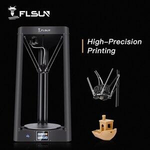 Image 1 - 2020 3D Máy In Flsun QQ PRO Tự Động San Bằng Tiền Hội Titan Cảm Ứng Màn Hình Lưới HeatBed 32Bitsboad