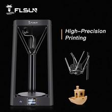 2020 طابعة ثلاثية الأبعاد Flsun QQ PRO التسوية التلقائية قبل التجميع تيتان شاشة تعمل باللمس شعرية HeatBed 32bitsboad