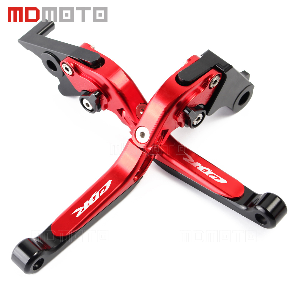 Motorcycle CNC aluminum Adjustable brake clutch levers For Honda CBR650F CBR 650F CBR650 F CB650F CB 650F 2014 2015 2016 2017