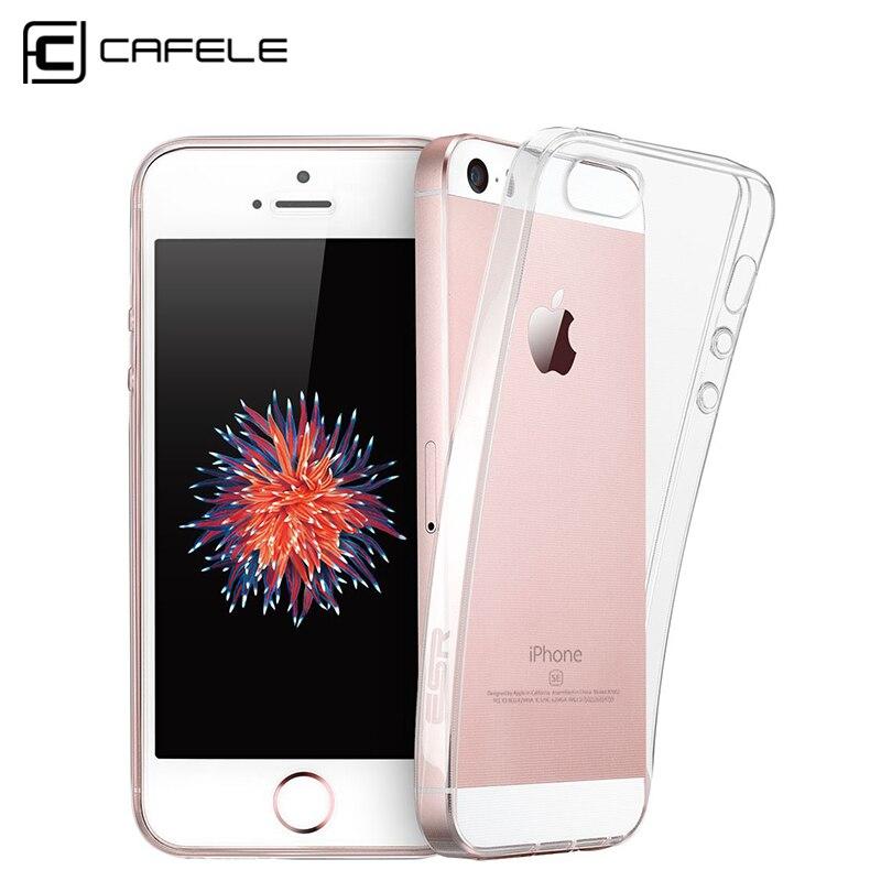 Ultra thin moda transparente de silicona suave de nuevo para el iphone 5s case p