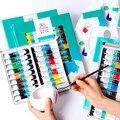 Winsor & Newton 12/18/24 цветов Профессиональные акриловые краски Высокое качество акриловая живопись пигмент для художественной живописи