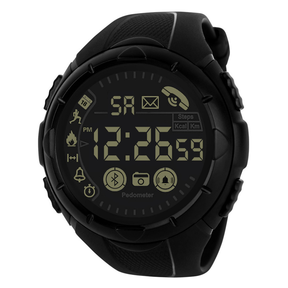 Digital Watch Men Reloj Hombre 30M Waterproof Men Silicone LED Digital Dual Military Movement Electronics Homme Montre Watch MD5