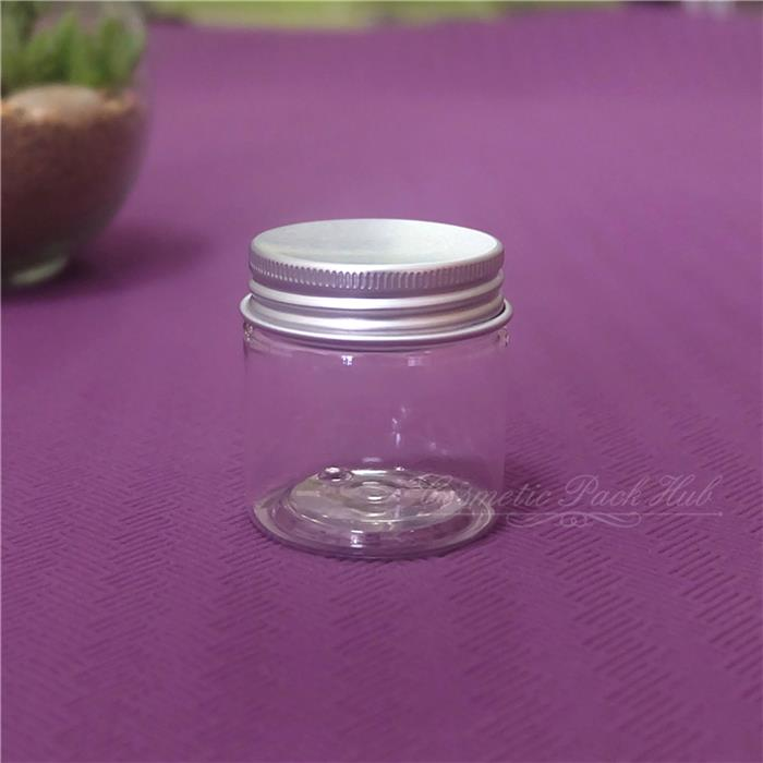 412fc9ed88f9 30ml g Plastic Cosmetic Jars Clear Skin Care Cream Container for Capasule  Pill Sample Packing Bottles Free Shipping