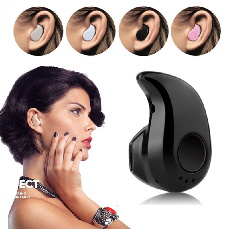 Mini Wireless In Ear Earpiece Bluetooth Earphone Cordless Hands Free Headphone Blutooth Stereo Auriculares Earbuds Headset