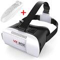 """2016 VR КОРОБКА Гарнитура 3D Очки VR Google Картон Виртуальная Реальность Очки Для 4.7 """"~ 6.0"""" Смартфоны 3D Видео Очки"""