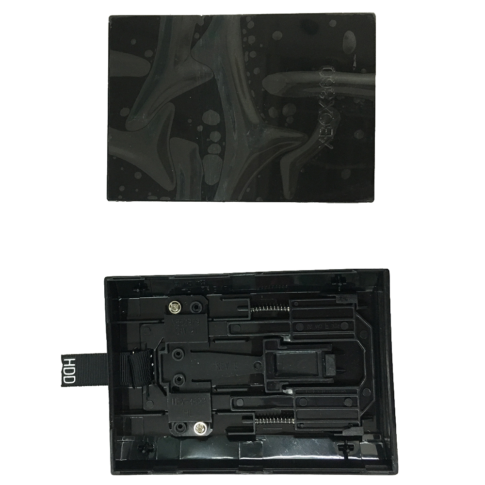 For Xbox 360 Slim Internal Hard Drive Enclosure Disk HDD Case Shell BlackFor Xbox 360 Slim Internal Hard Drive Enclosure Disk HDD Case Shell Black