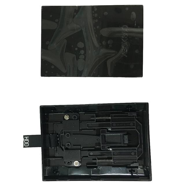 Para Xbox 360 Slim interno Disco Duro carcasa disco HDD carcasa negro