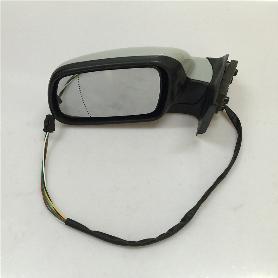 STARPAD For Peugeot 307 Electric Car Side Mirror View Mirror Outside Mirrors (manual Folding With A Decorative Cover)
