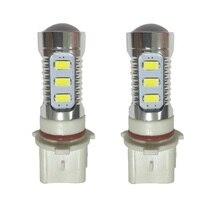 Car bulb P13 16W 12x 5630 SMD+2 x CREE XP-E LED 1500lm 6500K White Light LED for Car Foglight Headlamp (DC12~24V) LED bulb tube