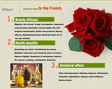 Rose essential oil foot Bath Spa body massage oil Plant essential oil for fragrance lamp humidifie spice Aromatherapy