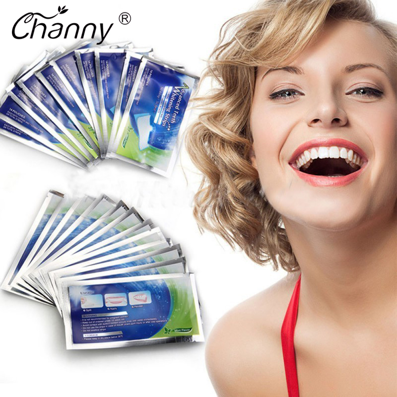 28 Pcs Lot Teeth Whitening Strips Gel Care Oral Hygiene Clareador Dental Bleaching Tooth Whitening Bleach Teeth Whiten Tools