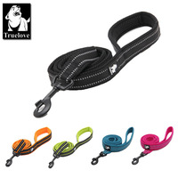 Truelove Soft Padded Mesh Dog Leash 3M Reflective Nylon Walking Training Dog Leads Stock Running Dog