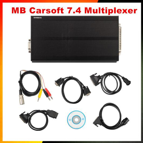 2019 New MB Carsoft 7.4 Multiplexer ECU Chip Tunning MCU Controlled Interface For M- B Carsoft V7.4 Multiplexer Free Shipping