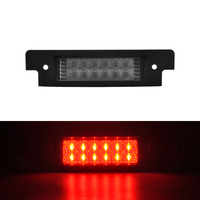 Brilliant Red Led High Mount 3rd Third Brake Light For 94 04 Discovery I II 97 06 Defender 90/110/XS Car Styling