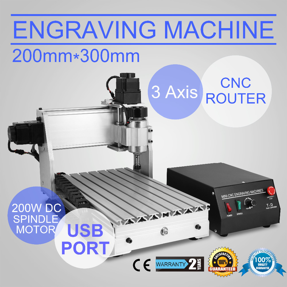 New CNC 3020T USB Router Engraver/Engraving Drilling And Milling Machine