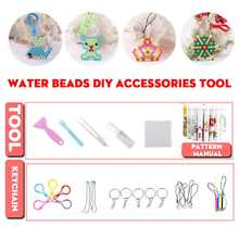 1Set Magical Water Mist Magic Beads Making Kit Child Handmade DIY Making Water Sticky Beads Boys Girl Puzzle Gift Tool(China)