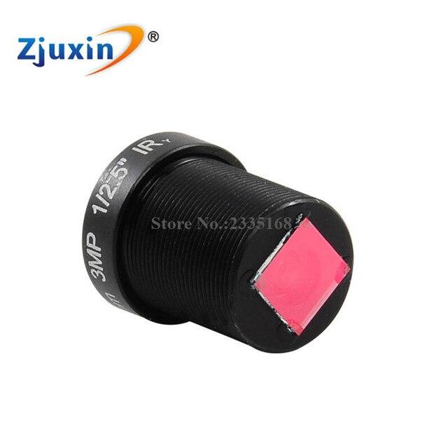 """3MP 1/2.5"""" 2.8mm CCTV board camera Lens for HD MTV Security board Camera analog FPV camera board  M12"""