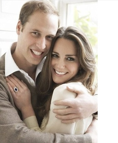 Prince William's Wedding Ring Natural With 925 Sterling Silver Princess Cut Engagement Ring Hot Sale Items Blue Finger