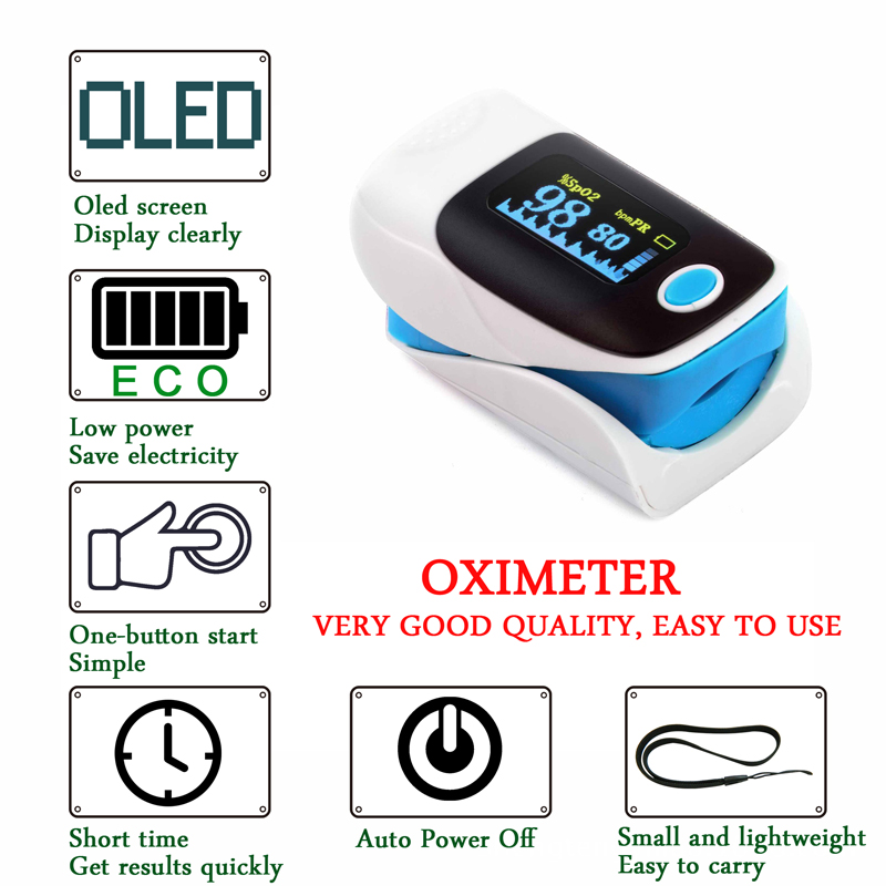 Pulse Oximeter De Pulso De Dedo Fingertip Pulse Oximeter Two Color Pulsioximetro Oled Heart Rate Monitor CE ems free shipping ce approve pm60a portable pulse oximeter and heart rate monitor for veterinary