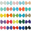 9Pcs 25 Colors Solid Mini Hairbows For Baby Girls Lovely Hair Accessories Hair Clips Ribbon Hair Bows For Baby Infant Hairpin