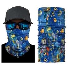 Headwear Bandana 3D Animal Face Mask Neck Gaiter Ghost Face Shield Bicycle Ski Skull Half Face Mask Ghost Scarf  Motor Mask Anti цена и фото