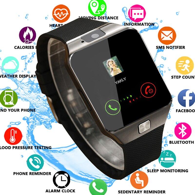 Smart Watch DZ09 2019 Gold Orange White Black Smartwatch Bluetooth Watches For IOS Android Iphone SIM Card Camera 1.56InchSmart Watch DZ09 2019 Gold Orange White Black Smartwatch Bluetooth Watches For IOS Android Iphone SIM Card Camera 1.56Inch