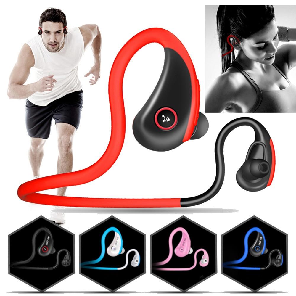 Headphones High Quality Bluetooth Headset Sports Earphone Wireless For iPhone Samsung Bone Conduction Earphones @tw remax s2 bluetooth headset v4 1 magnet sports headset wireless headphones for iphone 6 6s 7 for samsung pk morul u5