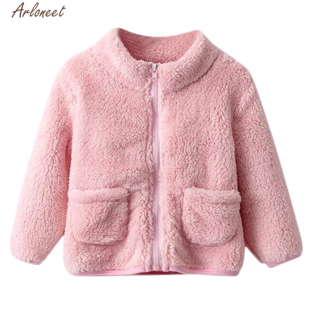 Kids Girl Boy Winter Cotton Hooded Coat Jacket Warm Zipper Outwear Clothes Lot