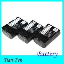 Venda quente 3 pcs bateria lp-e6 lp e6 lpe6 recarregável da bateria da câmera para canon 6d 5d mark iii ii 60d 7d