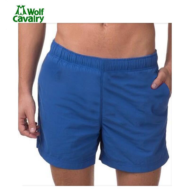 cavalrywolf Outdoor Sports Fitness Running Shorts Quick Dry Breathable Solid Color Basketball Fitness Sport Surf