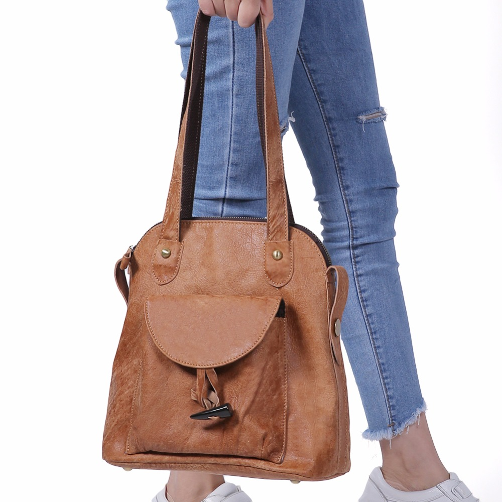 Genuine Leather Women Backpack Female Backpacks Large Capacity Ladies Daypacks Women Shoulder Bags College Schoolbag For GirlsGenuine Leather Women Backpack Female Backpacks Large Capacity Ladies Daypacks Women Shoulder Bags College Schoolbag For Girls