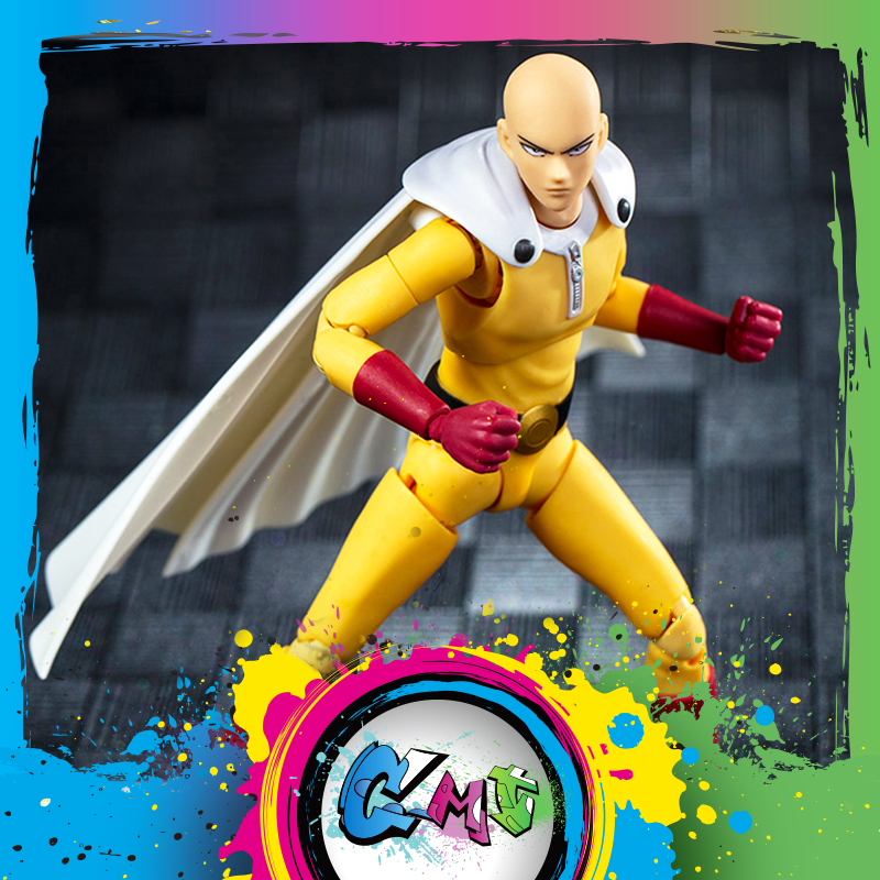 CMT Instock Dasin Model DM One Punch Man S.H.Figuarts SHF PVC Action Figure Anime Toys Figure-in Action & Toy Figures from Toys & Hobbies    1