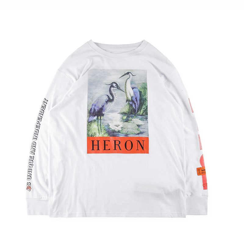 d3af02843d4 ... IUURANUS Heron Preston футболки хип-хоп оверсайз уличная футболка с длинным  рукавом Heron Preston футболка ...