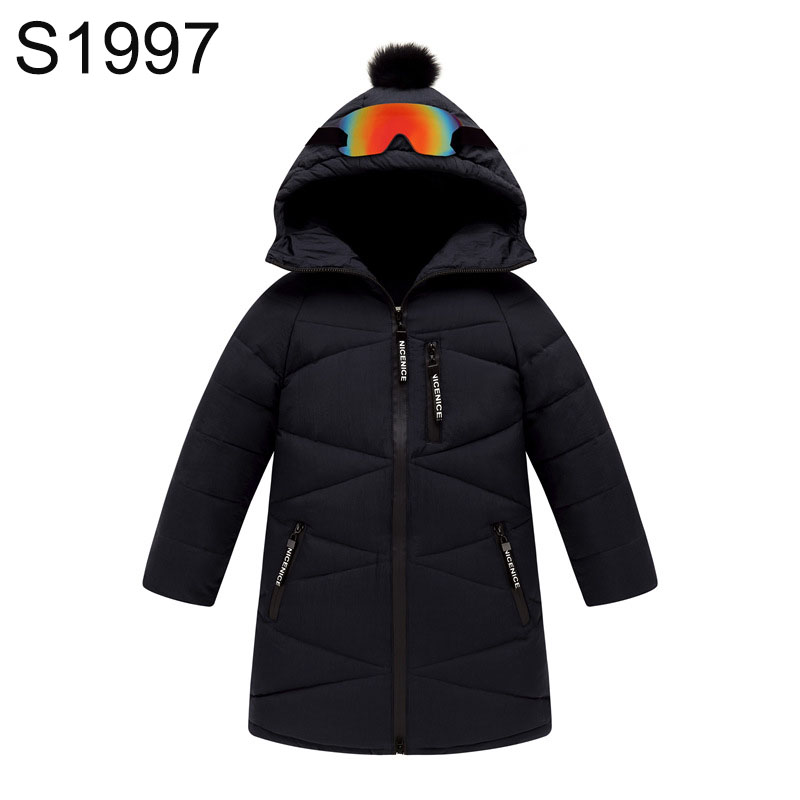 New Winter Children's Down Coat Big Boys Fur Collar Hooded Warm Jacket Thick Duck Down Outerwear Teenagers Boy Long Sleeve Coats russia winter boys girls down jacket boy girl warm thick duck down