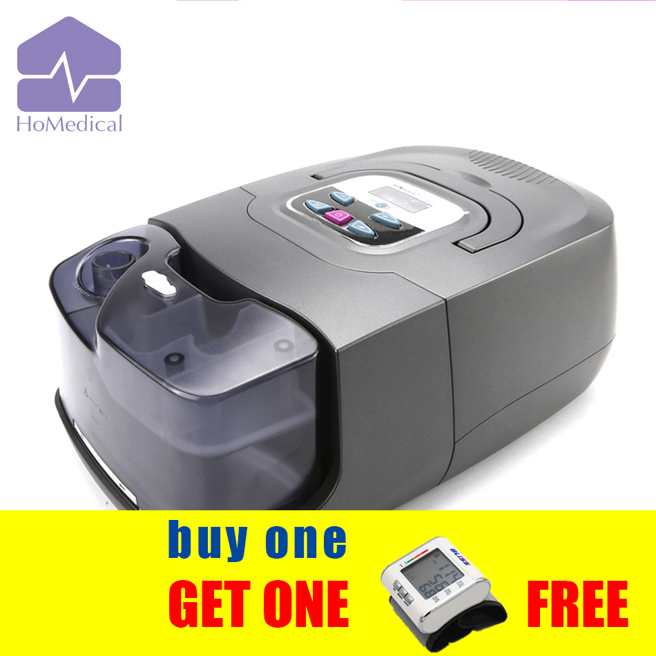 HoMedical GI BPAP 25T (S/T Mode) with Full Face Mask+ Humidifier+Carrying Case for COPD patient