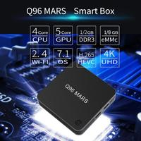 Q96 Mars Set Top Box S905L 1GB+8GB Android 7.1 WiFi Network Media Player Home Electronic TV Box Setter Accessories