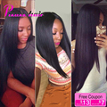 8A Peruvian Virgin Hair Straight 3 Bundles Rosa Hair Products Peruvian Hair Bundles Soft Peruvian Straight Virgin Hair