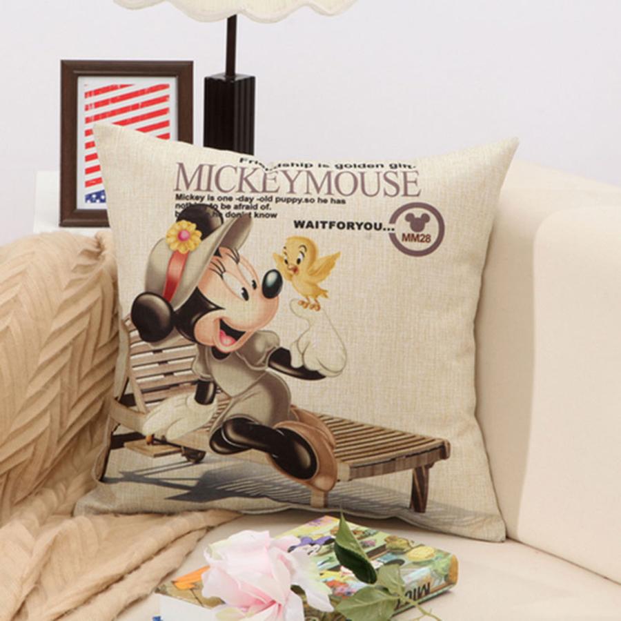 minnie animado cojn para sofs de lujo decorativo cadeira travesseiro home decoracin almohada almohada lindo qqj