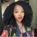 Free Ship Black Short Afro Kinky Curly Natural Hair Wig Cheap Cosplay Synthetic Women's Wigs Perruque Afro Wig For Black Women
