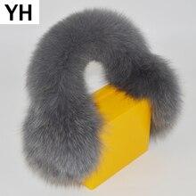 Earmuffs Plush Earlaps Winter Real Fur Fox-Fur Natural Hot-Sale Russia-Luxurious Full-Leather