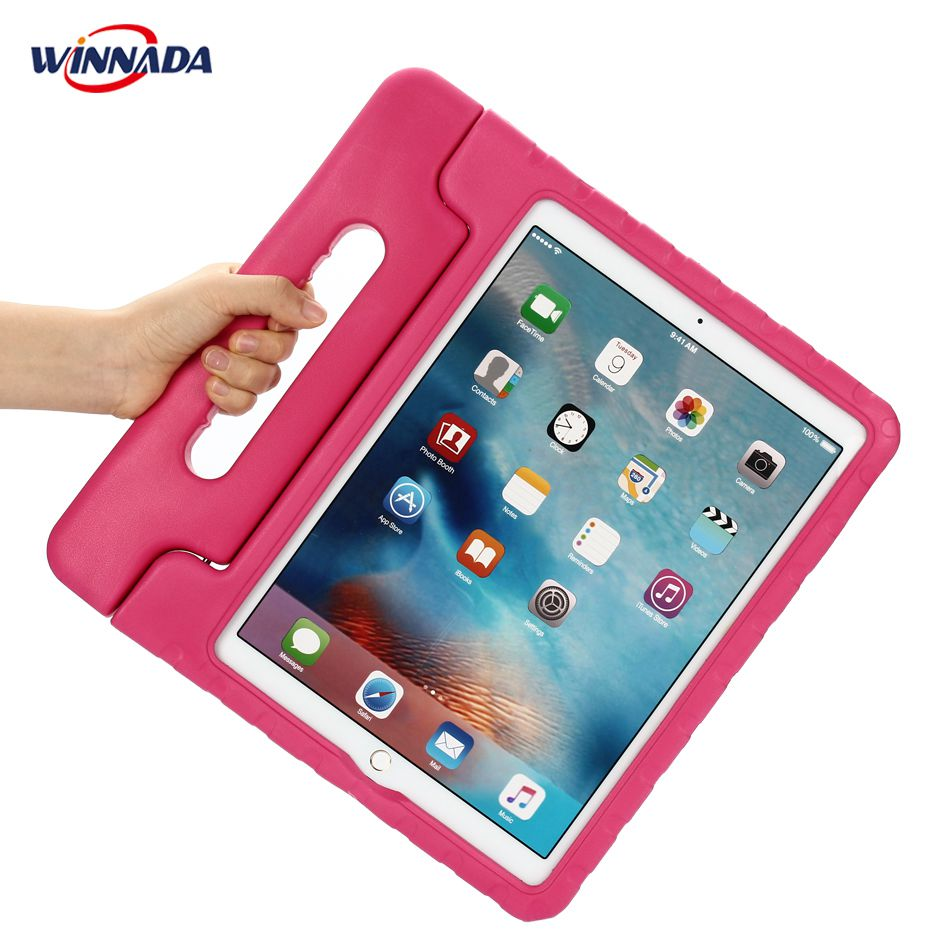 For ipad pro 12.9 case hand-held Shock Proof EVA full body cover for ipad pro 12.9 inch 2017 Handle stand case for kids adjustable pro safety equestrian horse riding vest eva padded body protector s m l xl xxl for men kids women camping hiking