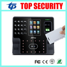 ZK iface102 TCP/IP biometric face and fingerprint and RFID EM card time attendance system optional battery employee attendance