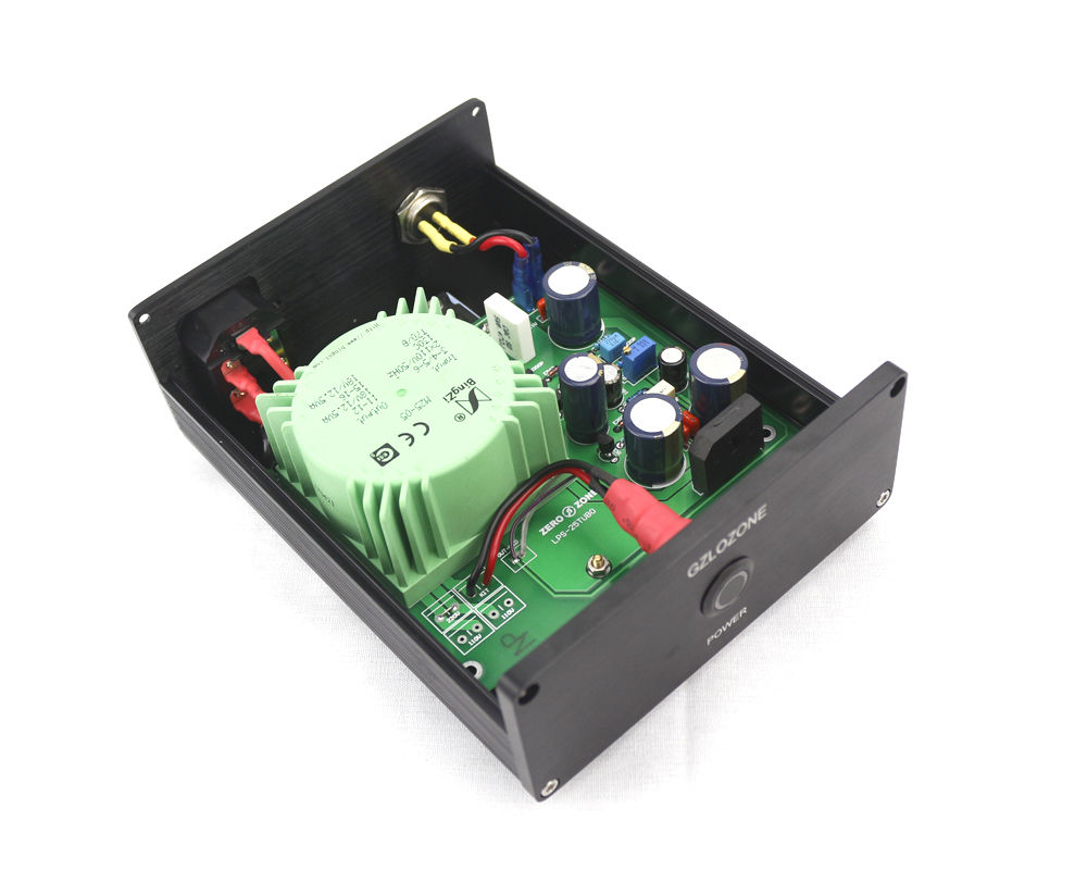 GZLOZONE Standard Edition 25W Ultra-low Noise Linear Power Supply DC15V @1.15A HIFI LPS z ultra google edition