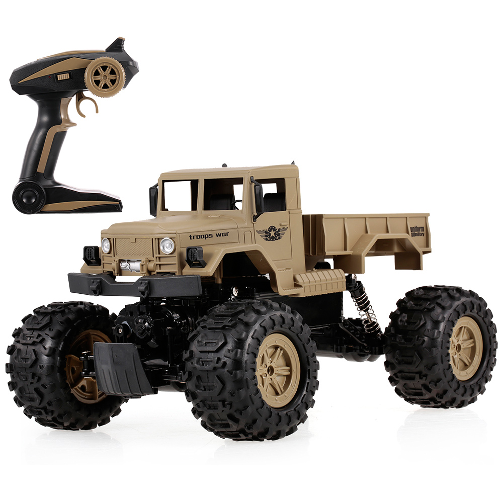 Zg-c1231w 1/12 2.4g Rc Car 4wd Rtr Rc Military Car Amphibious Waterproof Desert Rock Crawler Cars For Kids Vehicle Truck Remote Control Toys