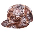 2016 New Leopard Novelty Baseball Cap Fashion Snapback Hats For Men And Women Unisex Bone 2 Colors Gorras