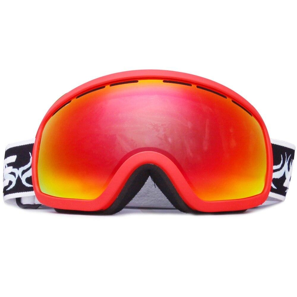 Benice лыжный Googles многоцветный ветрозащитный UV400 мотоцикл Снегоход Лыжные очки