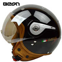 Beon Vintage Off Road Motocross Feminino Motorcycle half Helmet Head headgear casque capacete casco Riding for helmets