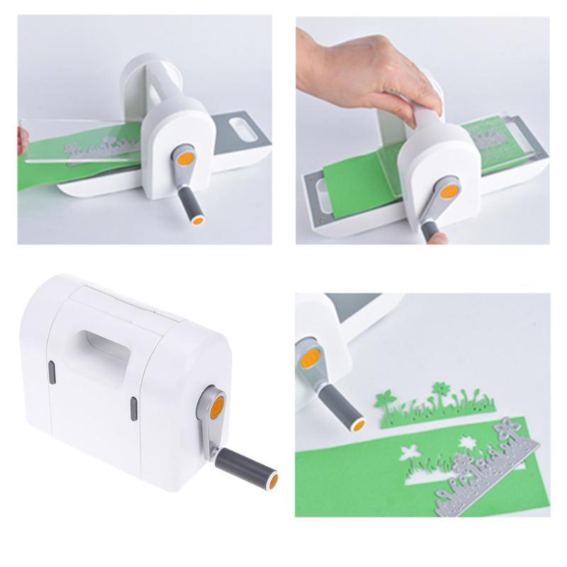 Die Máquina De Corte De Gravação Scrapbooking Pedaço Cortador Cortador De Papel Die-Máquina de Corte Manual de Papel DIY Ferramentas Artesanais