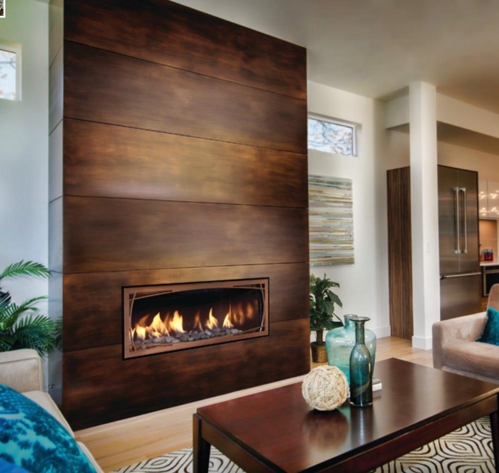 Inno Living Fire 48 Inch Bioethanol Fire Fireplace Heater Insert