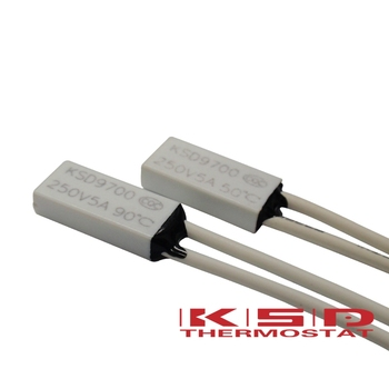 Temperature Switch Thermal Protector KSD9700 N//C 55C degree 5A 250V Thermostat